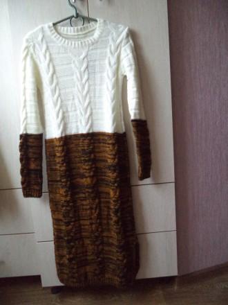 Вязаное платье. Николаев. фото 1