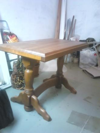 Стол массив кухонный,обеденный,. Кривой Рог. фото 1