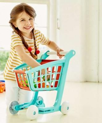 Тележка детская с набором фрукты-овощи, elc mothercare. Днепр. фото 1
