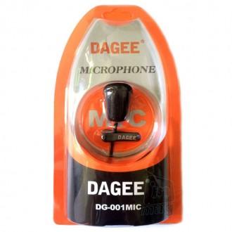 Петличный микрофон (петличка) Dagee DG-001. Киев. фото 1