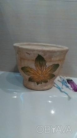 продам вазон, ручная работа, покупала в Чехии, но так и не посадила цветы. фото . Киев, Киевская область. фото 1