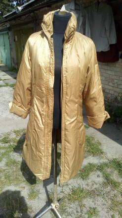 Куртка пальто настоящее пуховое натуралка. Ирпень. фото 1