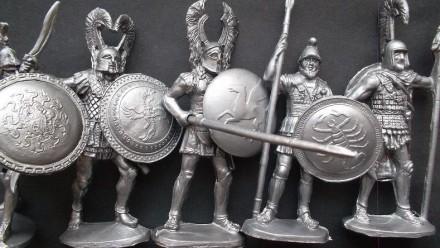 солдатики - 5 древних греков. Донецк. фото 1