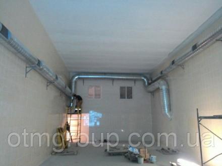 Монтаж промислової вентиляції та кондиціонування. Хмельницкий. фото 1