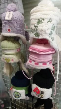 Ушанки и наборы (шапка и шарф). Харьков. фото 1