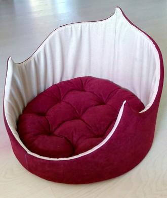 Диван лежанка место для собаки ,кота,щенка, 52*42 мебельная ткань. Днепр. фото 1