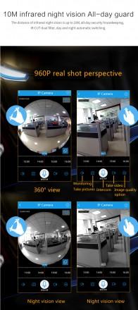 КАМЕРА БЕСПРОВОДНАЯ 360 градусов обзор.Установка программы в смартфоне или пк бе. Киев, Киевская область. фото 5