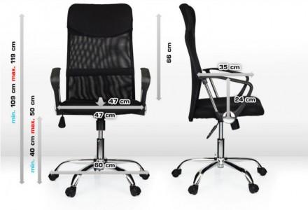 Офісне крісло Prestige обшите високоякісною тканиною(сіткою), що дозволяє комфор. Киев, Киевская область. фото 2