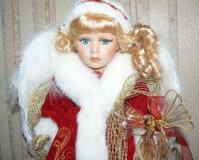 Фарфоровая винтажная коллекционная кукла. Днепр. фото 1