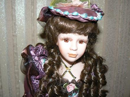 Фарфоровая коллекционная интерьерная кукла. Днепр. фото 1
