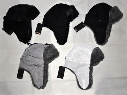 шапка ушанка унисекс. Вольногорск. фото 1