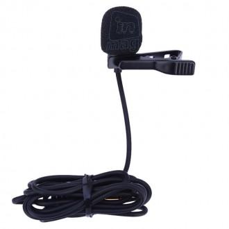 Петличный микрофон Commlite CVM-V01GP с адаптером для GoPro HERO 3, 4.. Киев. фото 1