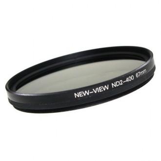 Нейтрально-серый светофильтр переменной плотности ND2-400, 46-82 mm.. Киев. фото 1