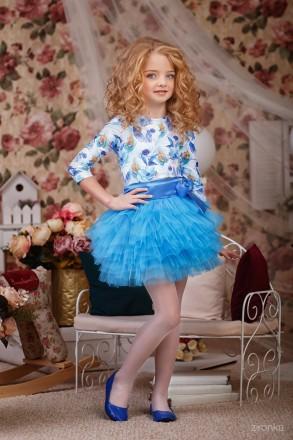 Красивые комплекты блуза и юбка рост 116-128см. Луцк. фото 1