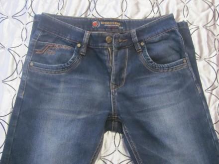 джинсы на флисе подростковые. Коростень. фото 1