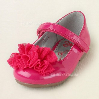 В наличии красывые  розовые туфельки для девочки от Children's Place (США).  р. Луцк, Волынская область. фото 3