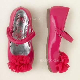 Нарядные туфельки для девочки от Children's Place (США) размер 22. Луцк. фото 1