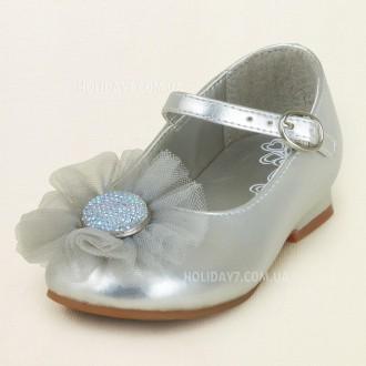 В наличии очень красывые белые и серебристые туфельки для девочки от Children's . Луцк, Волынская область. фото 3