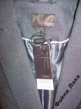 ШИКАРНЫЙ ПИДЖАК NEXT Blazer NEXT новый,со всеми бирками!!! великолепное качест. Измаил, Одесская область. фото 6
