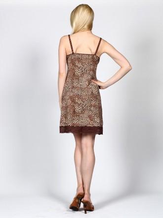 Полиамид-90%, Эластан-10%  Эффектный комплект цвета леопард. Состоит из сорочк. Измаил, Одесская область. фото 3