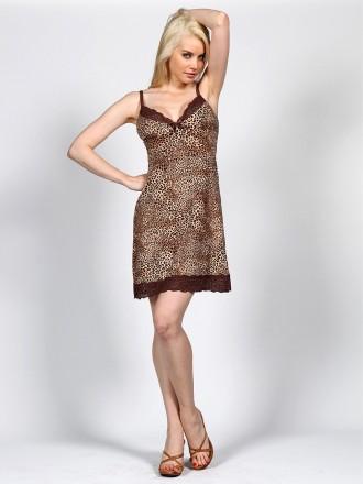 Полиамид-90%, Эластан-10%  Эффектный комплект цвета леопард. Состоит из сорочк. Измаил, Одесская область. фото 4