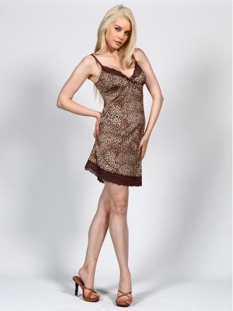 Полиамид-90%, Эластан-10%  Эффектный комплект цвета леопард. Состоит из сорочк. Измаил, Одесская область. фото 6