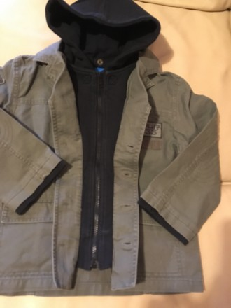 Стильная осенне-весенняя куртка для мальчика Англия Розмір — 6 років (116 см) . Измаил, Одесская область. фото 13