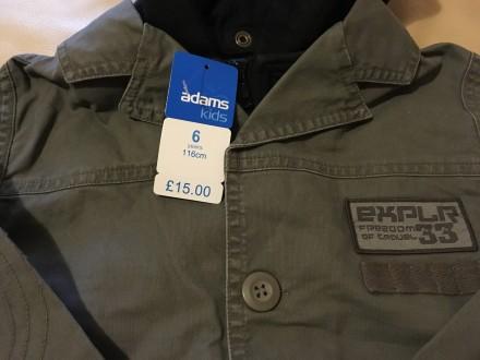 Легкая стильная куртка для мальчика Англия хлопок. Измаил. фото 1
