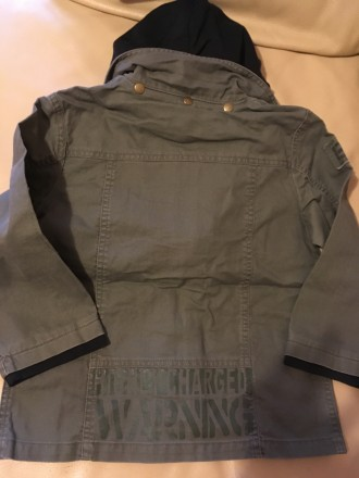 Стильная осенне-весенняя куртка для мальчика Англия Розмір — 6 років (116 см) . Измаил, Одесская область. фото 12