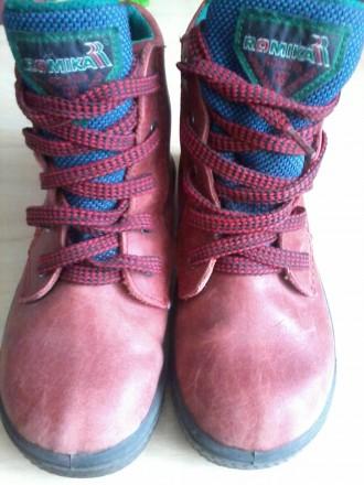 Продам кожаные ботинки р.27 осень/зима. Харьков. фото 1