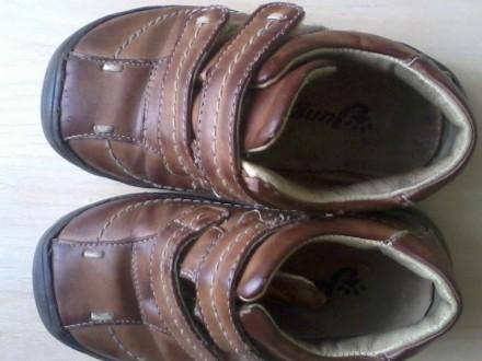 Продам кожанные туфли на мальчика р.26 по стельке15,5 см. Харьков. фото 1