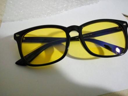 Очки для защиты зрения, очки для работы за компьютером, для вождения. Николаев. фото 1