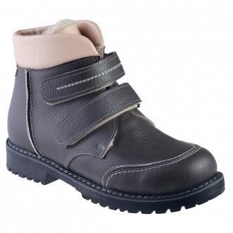 Подростковые ортопедические ботинки зима на двух липучках. Одесса. фото 1