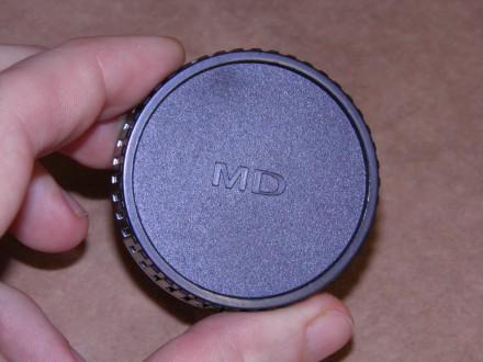 Задняя крышка для объектива (байонет MD). Киев. фото 1