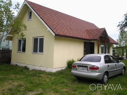 Новый (2013 г.) - (Канадская технология) дом 60 кв.м. с чердаком - мансардой 40 . Киев, Киевская область. фото 1