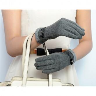 Перчатки для пользования сенсорным телефоном (Сенсорные перчатки) Очень мягкие и. Запорожье, Запорожская область. фото 2