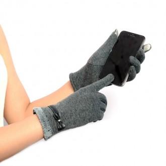 Перчатки для пользования сенсорным телефоном (Сенсорные перчатки) Очень мягкие и. Запорожье, Запорожская область. фото 3
