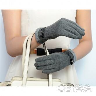 Перчатки для пользования сенсорным телефоном (Сенсорные перчатки) Очень мягкие и. Запорожье, Запорожская область. фото 1