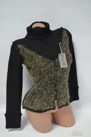 очень теплый свитер гольф 50% -вовна 30%-  акрил 20% - поліестр размер S-M . Измаил, Одесская область. фото 3