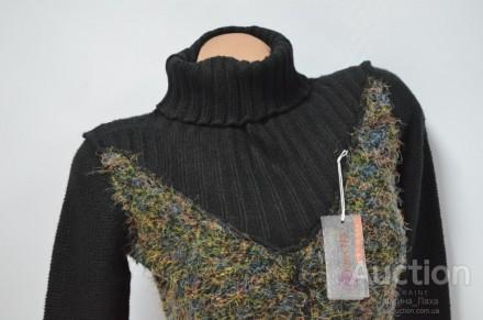 очень теплый свитер гольф 50% -вовна 30%-  акрил 20% - поліестр размер S-M . Измаил, Одесская область. фото 4