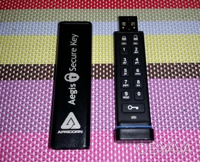 Защищённый накопитель — Aegis Secure Key ASK-256-8Gb  Особенности:  - пыле- и. Киев, Киевская область. фото 1