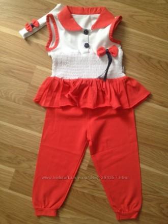 Летний костюм для девочки 80 р. Ровно. фото 1