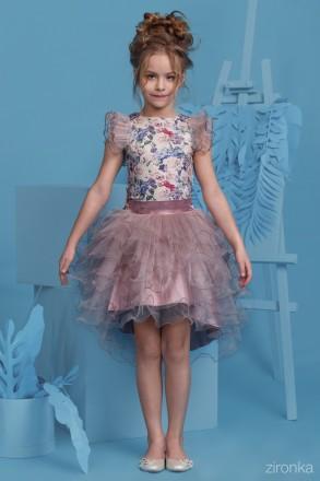 Продам шикарные нарядные комплекты для девочек Рост 128см, 134см, 140см  Блуз. Луцк, Волынская область. фото 6