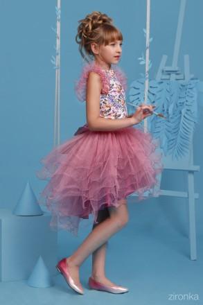 Продам шикарные нарядные комплекты для девочек Рост 128см, 134см, 140см  Блуз. Луцк, Волынская область. фото 8