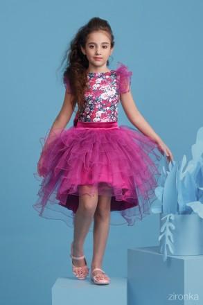 Нарядные платья-комплекты рост 128см, 134см, 140см в наличии. Луцк. фото 1