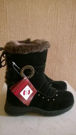 Зимние сапоги для девочки. Каменское. фото 1