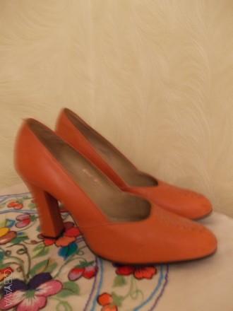 Туфли женские кожаные, Размер 38. Производство Венгрия. Николаев. фото 1