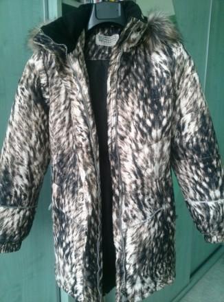 зимнее пальто бренда Lenne для девочки на рост 152 см. Киев. фото 1