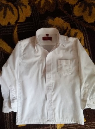 Рубашка белая. Мелитополь. фото 1