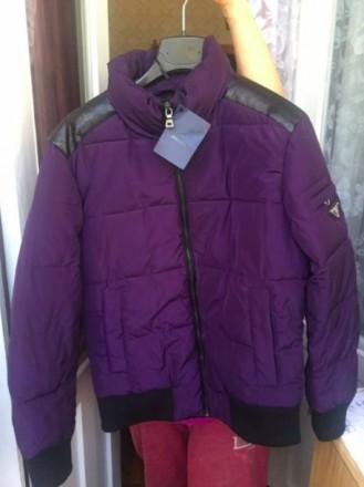 Куртка Prada. 46-47 см плечи. Утепленная. Киев. фото 1